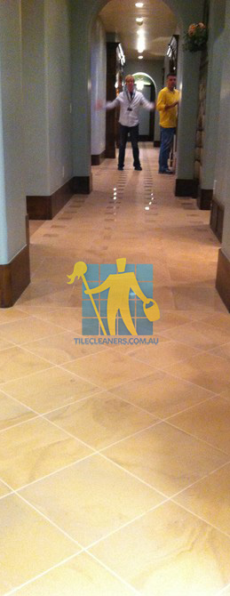 traditional entry with large porcelain tiles were laid in a basketweave pattern Eastern Suburbs